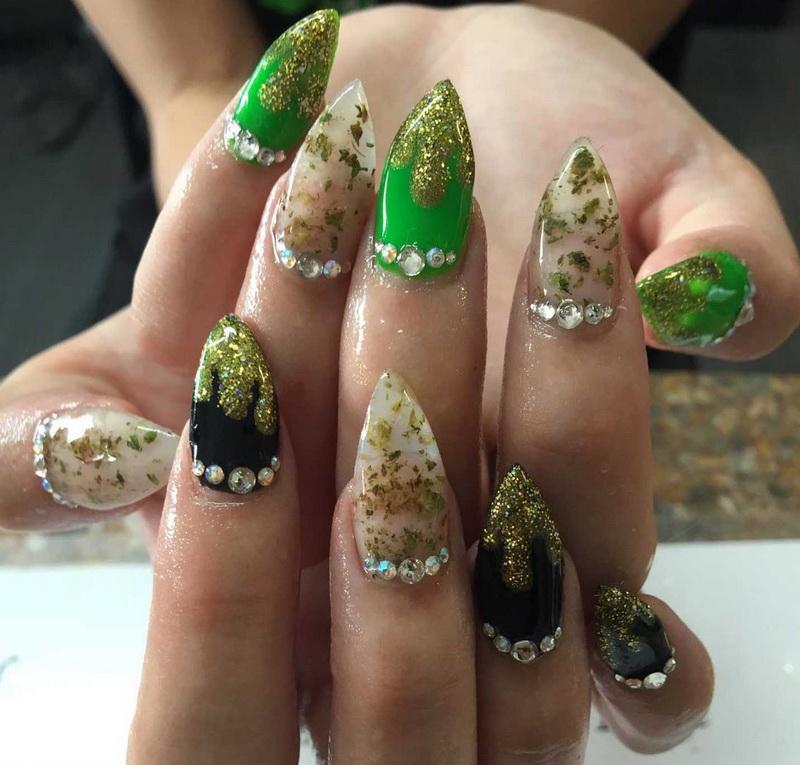 Наращивание ногтей приколы картинки