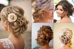 Curly Bun Hairstyles For Prom Side Buns Hairstyles For Weddings