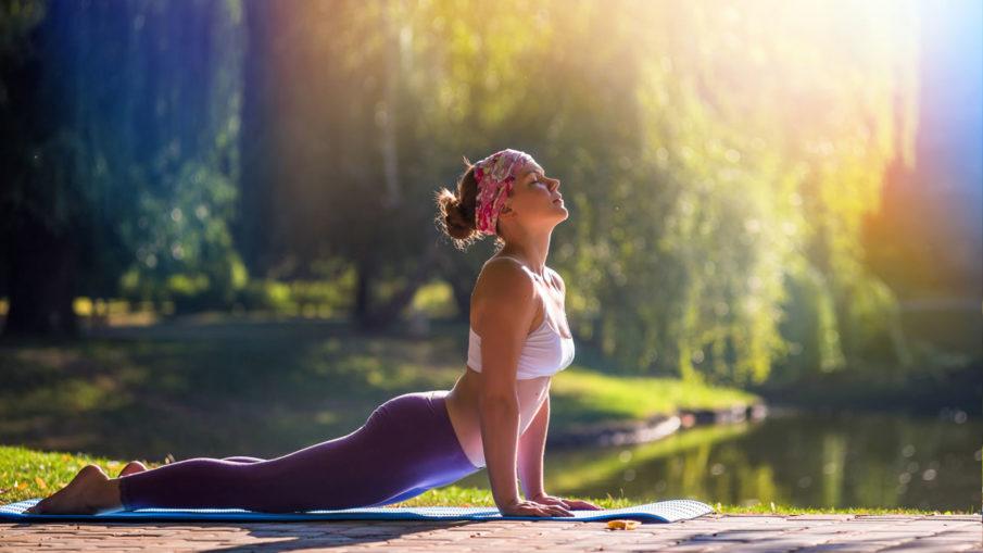 Йога для похудения - упражнения и позы, видео