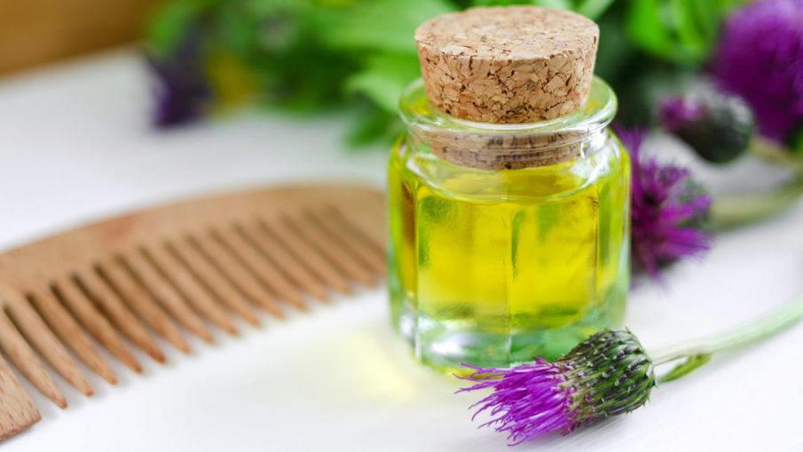 Репейное масло для волос - для чего и как использовать