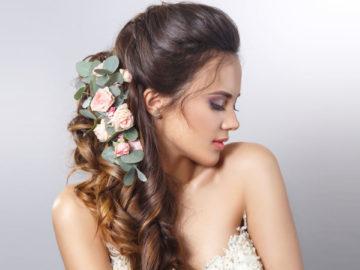 Причёски на свадьбу - украшения, фото, видео