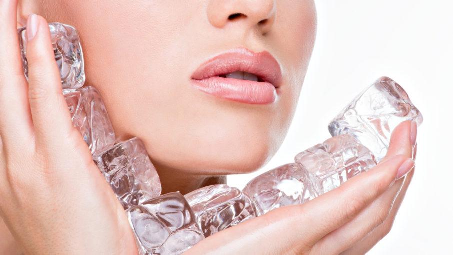 Лёд для лица - польза, как готовить, рецепты красоты